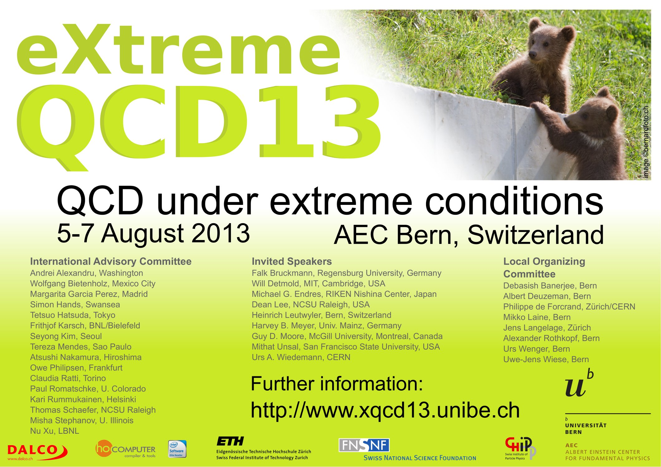 XQCD13 workshop poster